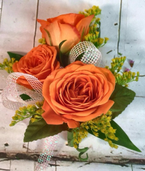 Small Spray Rose Corsage Prom Corsage
