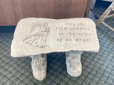 Small Stone Bench Stone