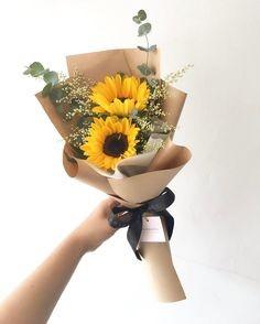 Small Sunflower  Cut Bouquet