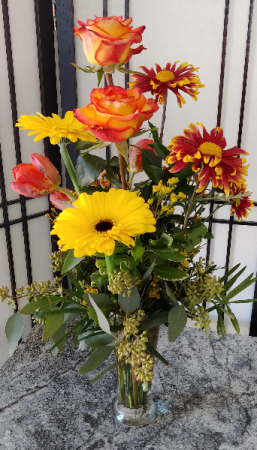 Small Tall Fall Arrangement