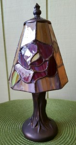 Small Tiffany Stlye Lamp