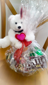 Small Valentine Basket Gift basket