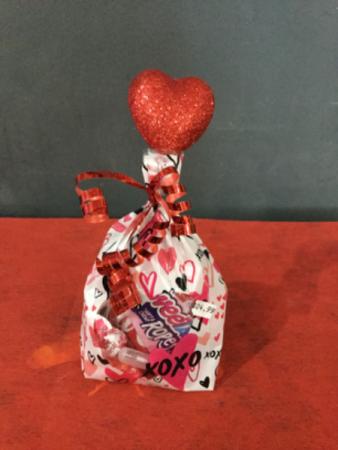 SMALL Valentine's Day basket