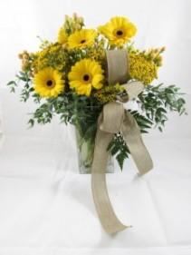 Smile and Shine Custom Fitzgerald Flowers Arrangement