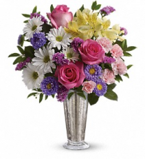 Smile and Shine Vase Arrangement