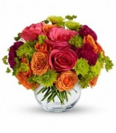 Smile For Me Bouquet Vase Arrangement