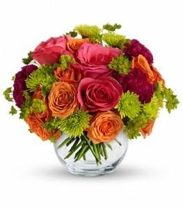 Smile For Me Bouquet Vase Arrangement