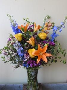 Smile for Me Custom Fitzgerald Flowers Arrangement in La Grande, OR | FITZGERALD FLOWERS