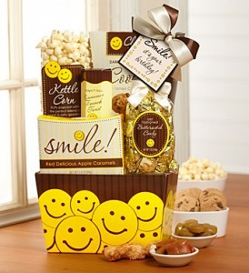 Smile Its Ypur Birthday Gift Gourmet Basket