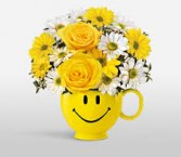 Smile Mug (Mug Varies) Arrangement