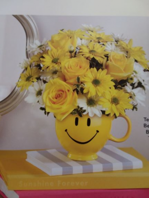 Smiley Bouquet Administrative Assistance Day in Pigeon, MI | HAIST FLOWERS & GIFTS