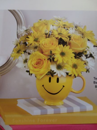 Smiley Bouquet Administrative Assistance Day