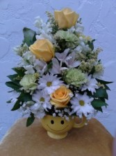 Smiley Face Arrangement Arrangement