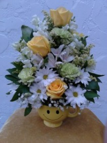 Smiley Face Arrangement (local delivery only)