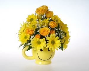 Smiley Mug in Nampa, ID | FLOWERS BY MY MICHELLE