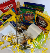 Smiley Snack Basket In House Special