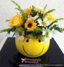 Smile Bouquet Fresh Flower Arrangement