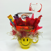 Smilin Sweets Candy Bouquet