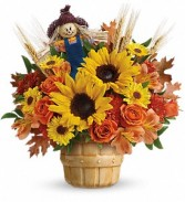 Smiling Scarecrow Fall Bouquet