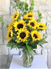 SMILING SUNFLOWERS