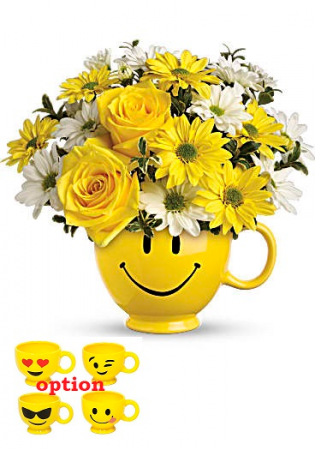 Smily Face Fresh Arrangement