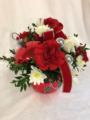 Shimmer Ball Christmas in Medfield, MA | Lovell's Florist, Greenhouse & Nursery