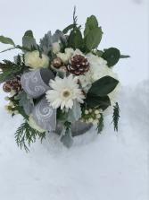 Smokey Mountain  vase