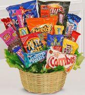 Snack Attack Basket Gift Basket