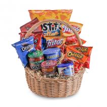 Snack Basket Arrangement
