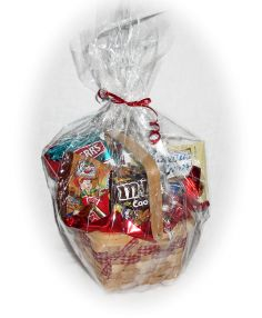 Snack Basket  Basket full of Snack packs