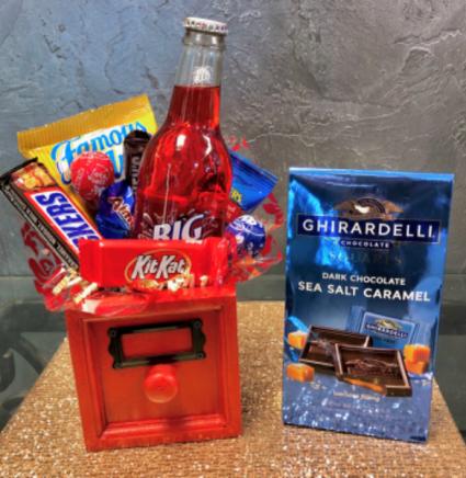 Snack Box and Chocolates