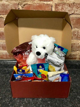 Snack box w/ bear Valentines
