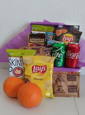 Snack Care Package Home Delivered  in Arlington, TX | Erinn's Creations Florist