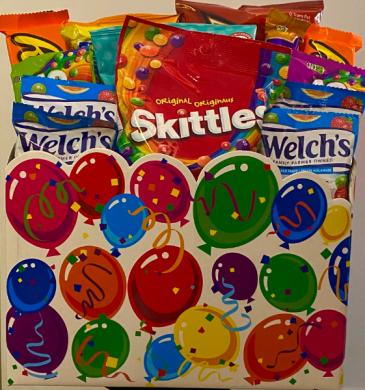 Snack Explosion Gift Basket