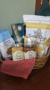 Snack Night Gift Basket Gourmet
