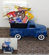 Snack Time Ford Pick Up Truck Snacks and Keepsake Truck (local only)