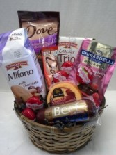 Snacks for all Day Gift Basket