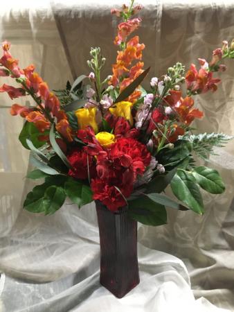Snappy Sunrise Floral Design