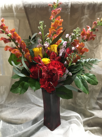 Snappy Sunrise Floral Design