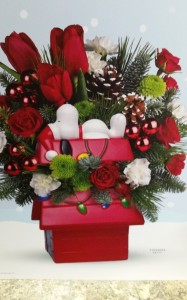 SNOOPY'S COOKIE JAR  CHRISTMAS