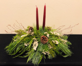 Customized Round Table  Holiday Centerpiece