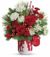 Snow Day Bouquet Teleflora Christmas T16X300A