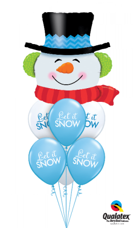 Snow Fun Day Balloons