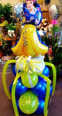 Snow White Balloon Bouquet