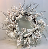 Snowberry Permanent Botanical Wreath