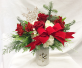 Snowed Mason Fresh Floral Design