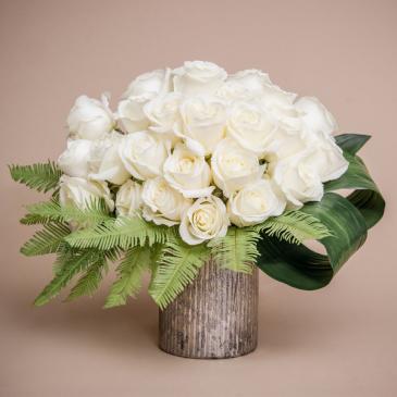 Snowflake Flower Arrangement Luxury