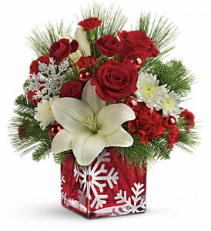 Snowflake Wonder Bouquet Arrangement