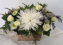 Snowflakes  Flower arrangement