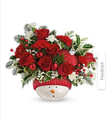 Teleflora Snowman Bouquet